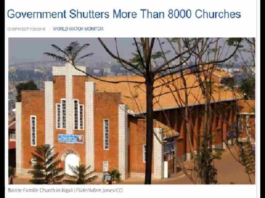 Churches Shut Down
