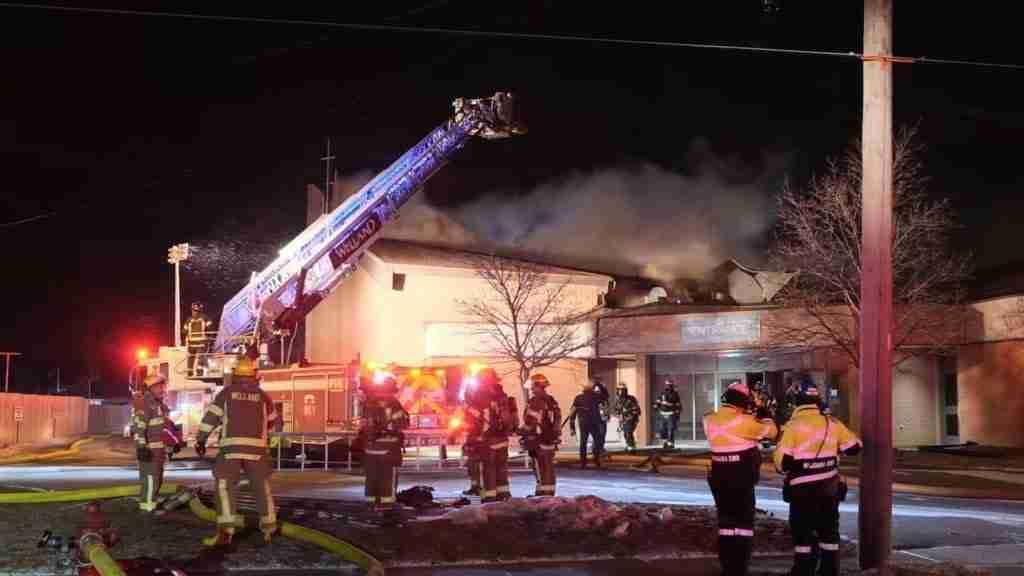 Welland Church Fire
