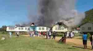 Zembawe Church Fire