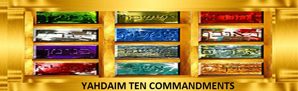 High Priest Gold Brest Plate Ten Commandments